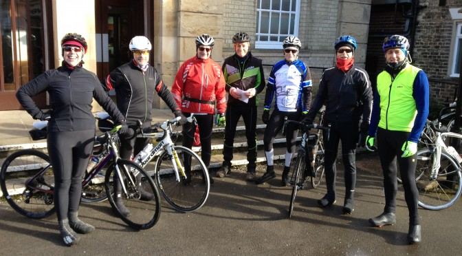 The Spartans , A Mini Contador and The CTC Spring Standard Ride